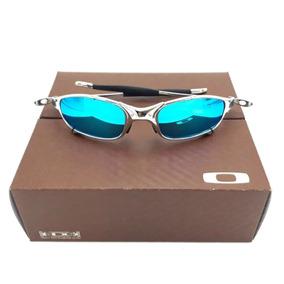 1ead68c19284f Juliet Roxa Azul - Óculos De Sol Oakley no Mercado Livre Brasil