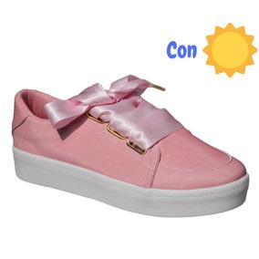 Tenis Mujer Y Niña Camaleón Rosa Cambian De Color 15 Al 27