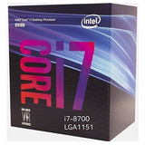 Procesador Intel Core I7-8700 3.2ghz/12mb/lga1151 (55)