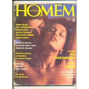 *sll* Revista Homem N. 09 / Playboy Pia Nascimento Abril76