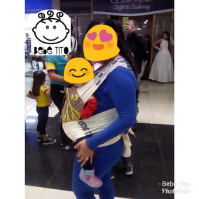 Mei Tai Evolutivo Bebé Tito. Cargador Ergonómico Para Bebés