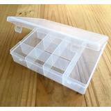 Caja Organizador Plástico Grande Gavetera 12 Divisiones 23cm