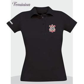 8447189db2 Camisa Do Corinthians Feminina Preta - Calçados
