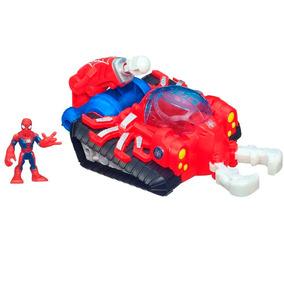 Veículo Tanque Com Boneco - Spider-man - Hasbro