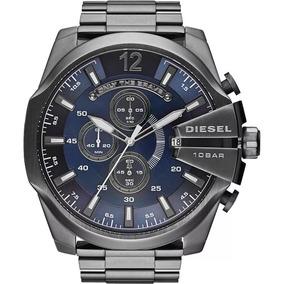3d0478aa914 Relogio Diesel Fundo Azul - Relógios no Mercado Livre Brasil