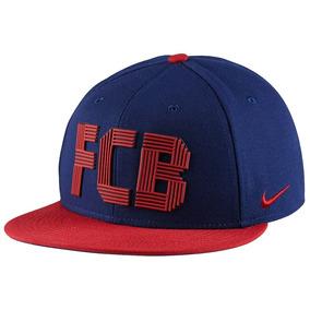 Bone Aba Reta Nike Barcelona - Bonés Nike para Masculino no Mercado ... 41d046d03df
