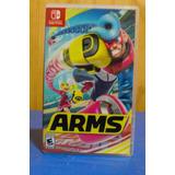 Videojuego Arms Usado (nintendo Switch)