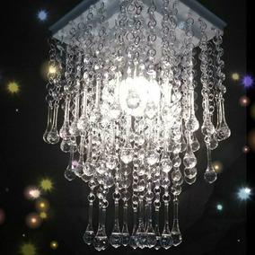 Lustre De Cristal Acrílico Pendente Para Salas E Quartos D13