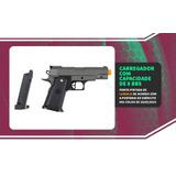 Pistola Airsoft Galaxy G10 Preta Full Metal (semi Nova)