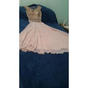 Vestido Usado Recepcion, 15 Años Fiesta. Pechera Totalmente