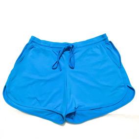 Shorts Praia Feminino Com Bolso Varias Cores