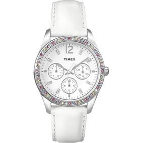 Relógio Timex T2p385 Crystal Multi-função Quartz