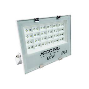 Refletor Microled 50w Bivolt Multifocal Branco Frio Ip67