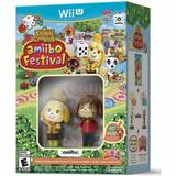 Amiibo Festival Wii U Juego, 2 Amiibos Y 3 Tarjetas