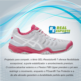 Tênis Asics Gel Resolution 7 Feminino P/ Tênis 39 Br