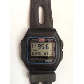 f0dfebd3acf Relogio Casio F 91w Alarm Chrono Relogio Antigo Raro! - Relógio ...