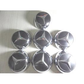 Jogo 7 Calotas Novas Caminhão Mercedes 1113 312 Frete Gratis