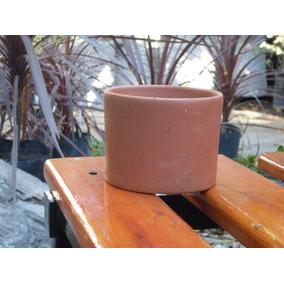 Maceta Barro Cilindro Nro 12 Para Bonsai Cactus Arbol Viejo