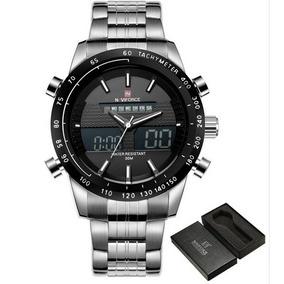 Relógio Naviforce Esportivo Original Lindo 48mm Aço Nf9093