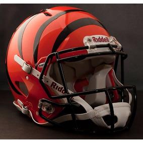 Casco De Fútbol Auténtico De La Nfl Cincinnati Bengals Speed 58bf4eab4f3