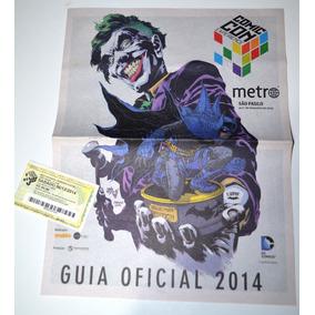 Guia Oficial Da Comic Con 2014 - Com Ingresso
