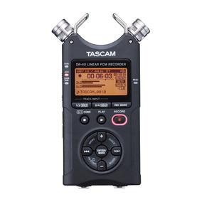 Grabadora Digital Dr-40 Portable De 4 Canales De Tascam