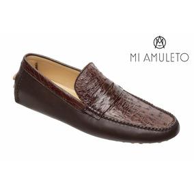 bf983013872 Mocasines De Piel De Avestruz en Mercado Libre México