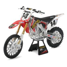 Replica Moto Cross New Ray Honda Crf Escala 1:6 Solomototeam