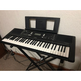 Teclado Yamaha Psr-e363spa + Base