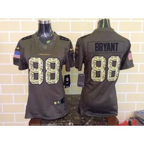 Impresionante Jersey Dallas Cowboys Salute Mujer Bryant 88 b69800c7c4b