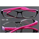 Armação Flexível Infantil Óculos De Grau Infantil 6 A 8 Anos 5cd734b25e