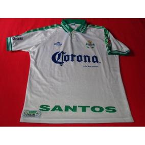 24f070769 Santos Retro Jersey Futbol Liga Mx Soccer Corona Sport