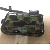 Camara Nikon Coolpix Aw120 16 Mp Sumergible