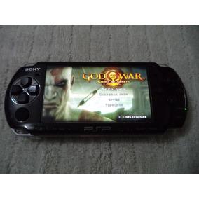 Psp Sony 3006 Original Desbloqueado Cartão 8 Gb Com 50 Jogos