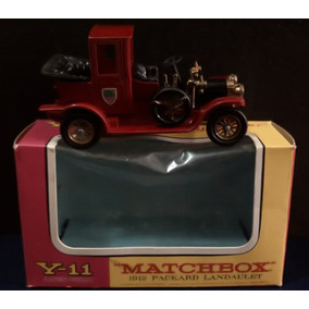 Antiguo Mb Lesney Products Y-11 1912 Packard Landaulet