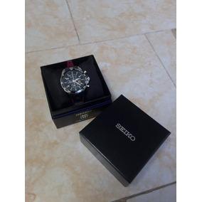 Reloj Seiko Snae93p1 Hombre Negro F.c. Barcelona Cronógrafo 9fbaec4eb19