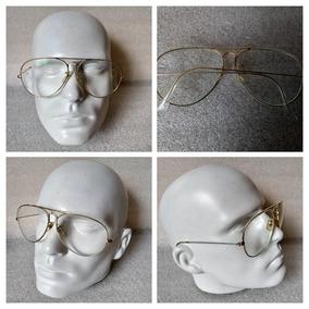 Armação Oculos Antigo Usado Ray-ban Legít Americ Dourado 72 cc1c1ab664