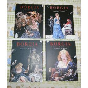 Borgia - Sangue Para O Papa - Hq - 4 Vols.