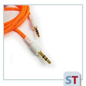 Cable Auxiliar Plug - Plug 3.5 St | Tipo Cordón | Colores