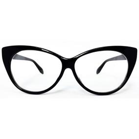 1bcd854580fc7 Armação Para Óculos De Grau Com Formato De Gatinho - Preto