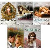 Michéle Mercier Coleção Angélica Com 5 Dvds