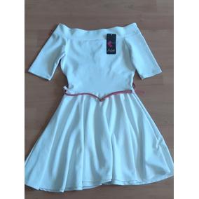 Vestido Blanco Corte A, Corto