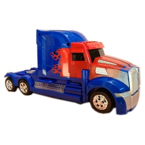 Transformer Optimus Prime Robo Caminhao Barato Pilha(video)