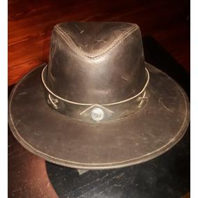 f26fdcc36adf9 Usado - Buenos Aires · Sombrero De Cuero Tipo Australiano