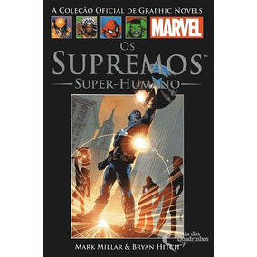 Os Supremos Super Humano - Graphic Novel Marvel Salvat