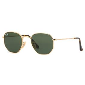Óculos De Sol Hexagonal Feminino - Masculino Black Friday cb4a23e1ba