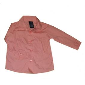 Camisa Nautica Para Bebe Talla 12 Meses Color Rosa Coral