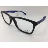 ca3ca197ec011 Oculos De Grau Ray Ban Rb 7027l 5565 56 Original