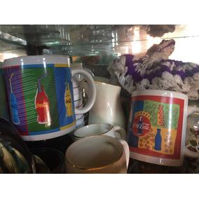 Gran Colección De Vasos Y Objetos Coca Cola. Bien Conservado