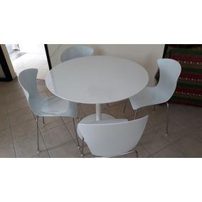 Mesa Em Laca + 4 Cadeiras ( 2 Conjuntos )
